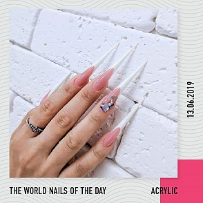 The world nails of the day 13.06.19